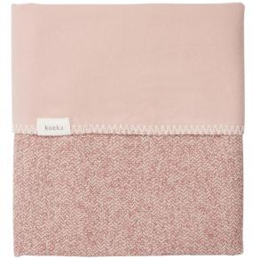 Koeka Wiegdeken Vigo Flanel Old Pink