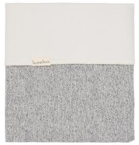 Koeka Wiegdeken Vigo Flanel Sparkle Grey