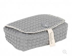 Koeka Babydoekjeshoes Antwerp Steel grey