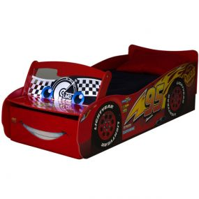 Disney Cars McQueen Autobed + LED-Verlichting