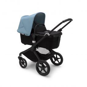 Bugaboo Kinderwagen 2in1 Fox2 Black - Vapor Blue