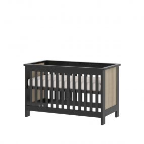Cabino Baby Bed Zwart Reno