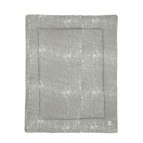 Meyco Boxkleed Fine Lines Lichtgrijs 77 x 97 cm