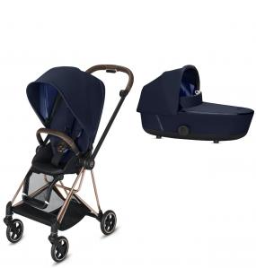 Cybex Kinderwagen Mios Pack Indigo Blue + Reiswieg