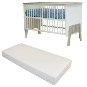 Bebies First Baby Bed Met Matras Nicky 60 x 120 cm