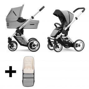Mutsy Kinderwagen Evo Bold Pebble Grey Standard