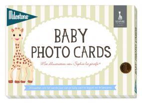 Sophie de Girafe Photo Cards Milestone™