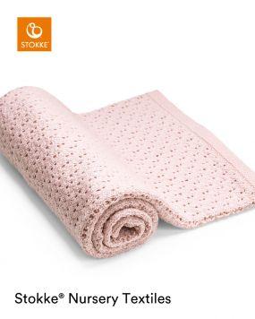 Stokke® Merino Wol Deken Pink