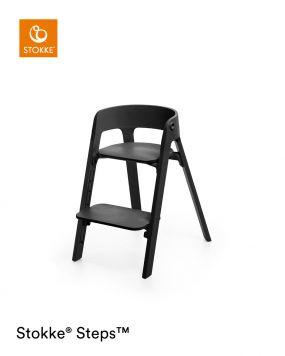 Stokke® Steps™️ Kinderstoel Black