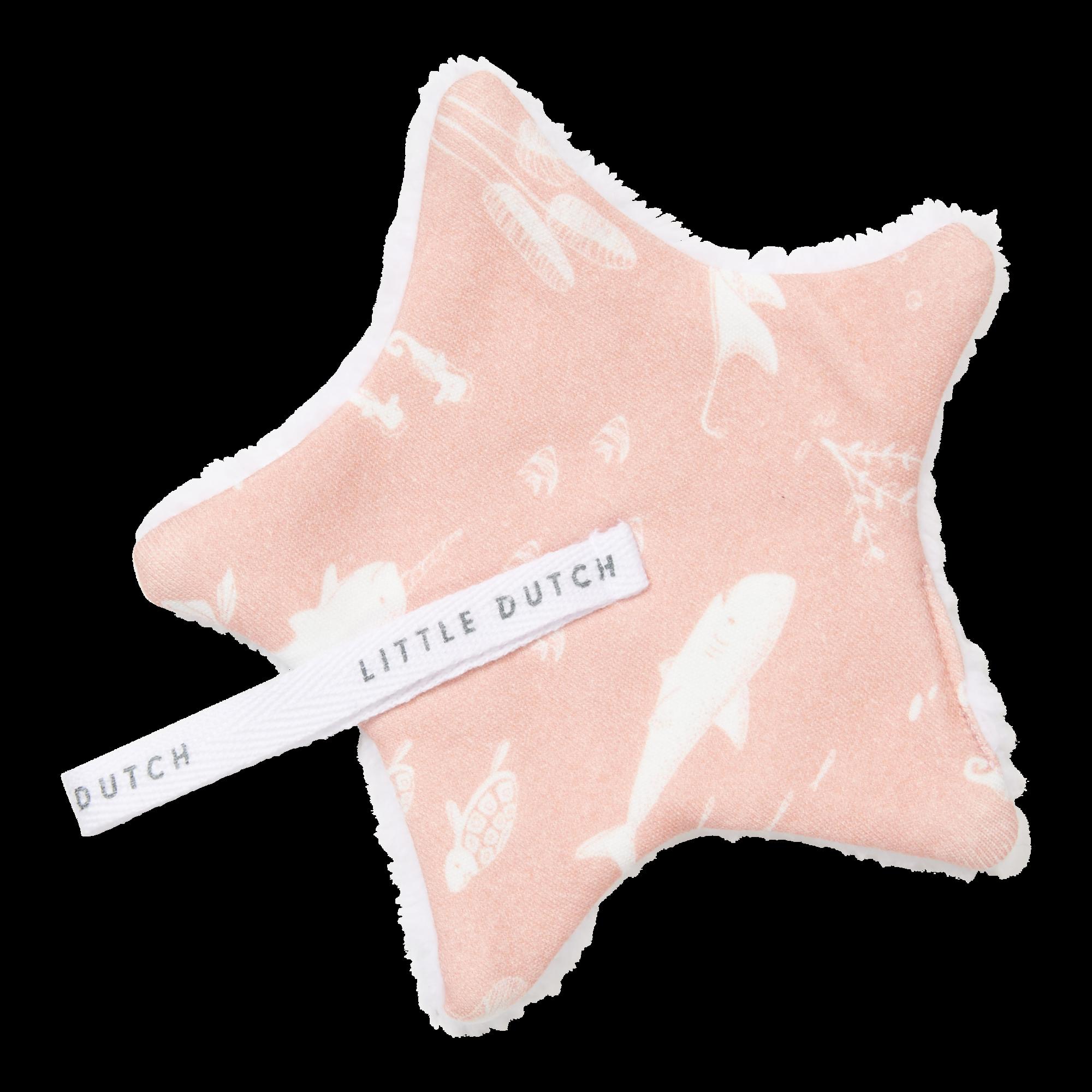 Little Dutch Speendoekje Ocean Pink