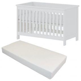 Cabino Baby Bed Met Matras Texas 60 x 120 cm