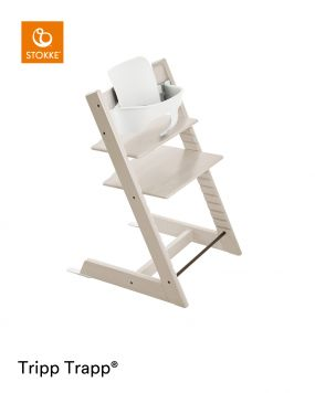 Stokke® Kinderstoel Tripp Trapp® Whitewash+ Baby Set™ White + Tray™