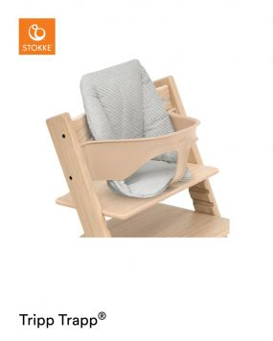 Stokke® Tripp Trapp® Baby Kussen Nordic Grey