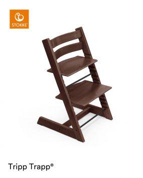 Stokke® Kinderstoel Tripp Trapp® Walnut + Baby Set™ Walnut + Tray™