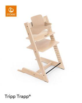 Stokke® Kinderstoel Tripp Trapp® Natural + Baby Set™ Natural + Tray™