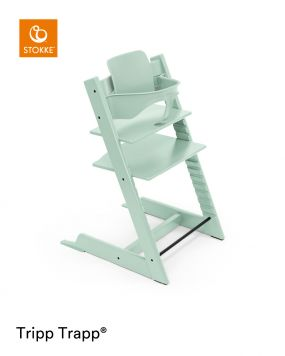 Stokke® Kinderstoel Tripp Trapp® Soft Mint + Baby Set™ Soft Mint + Tray™