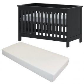 Cabino Baby Bed Met Matras Tucson 60 x 120 cm