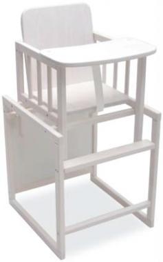 Bebies First Kinderstoel Eco Wit