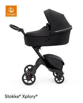 Stokke® Xplory® X Kinderwagen 2in1 Rich Black