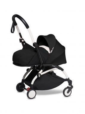 Babyzen Kinderwagen Yoyo2 2in1 Black White