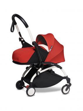 Babyzen Kinderwagen Yoyo2 2in1 Red White