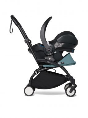 Babyzen Kinderwagen Yoyo² 3in1 Aqua Black