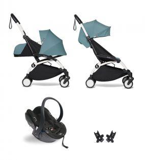 Babyzen Kinderwagen 3 in 1 YOYO2 Aqua White