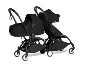 Babyzen Duo Kinderwagen YOYO Connect Black/Black