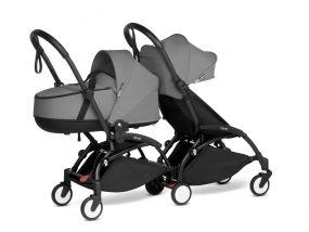 Babyzen Duo Kinderwagen YOYO Connect Black/Grey