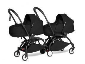 Babyzen Duo Kinderwagen Tweeling YOYO Connect Black/Black