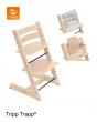 Stokke® Kinderstoel Tripp Trapp® Naturel + Classic Kussenset™️ + Baby Set™️